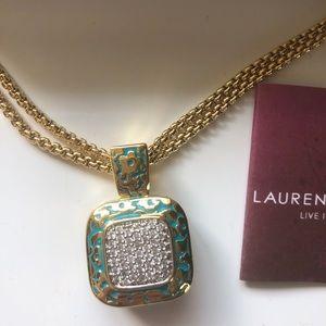 Lauren G Adams necklace in original box with tag